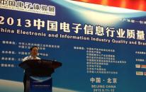 2013中国电子信息行业质量品牌大会圆满谢幕