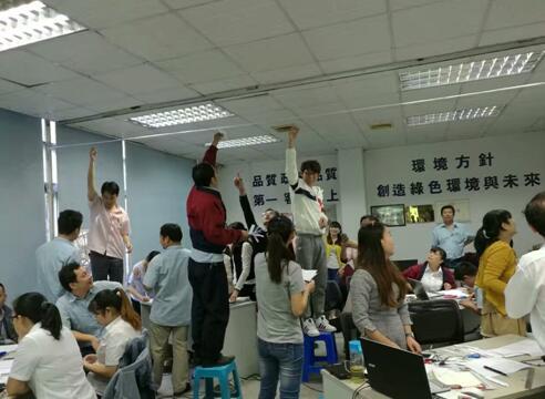 东莞旭声电子有限公司实验设计(DOE)培训圆满结束