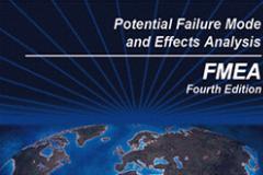 5月份潜在失效模式与效应分析(FMEA)课程培训