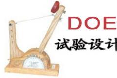 6月份试验设计(DOE)经典课程培训